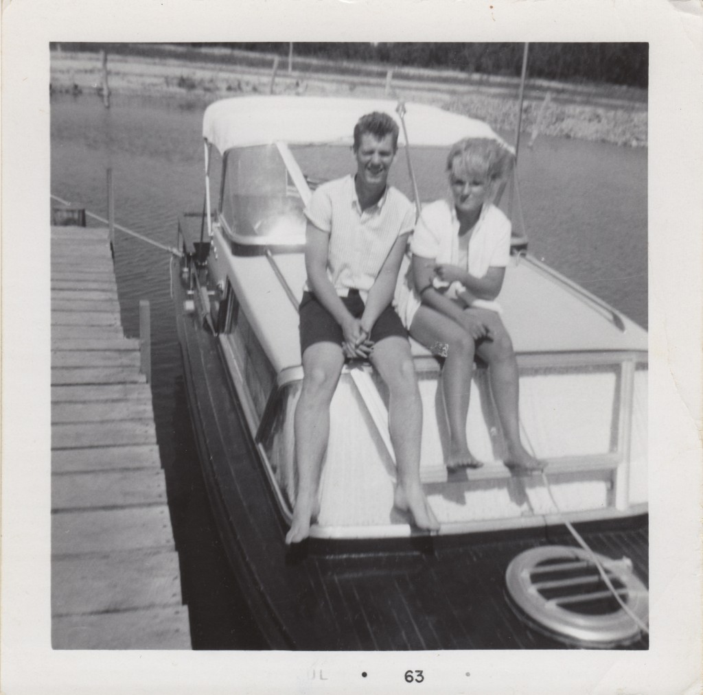 Mike & Sherry at Lake Mead 1961